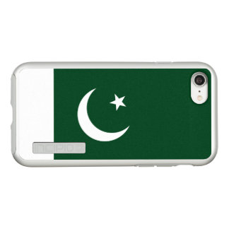 Flag of Pakistan Silver iPhone Case