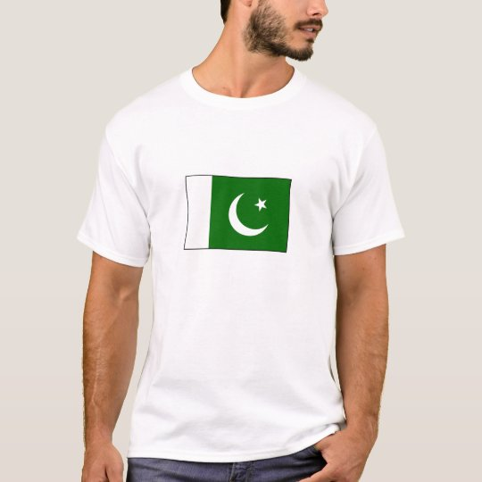Flag of Pakistan T Shirt