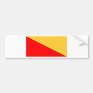 Flag of Palermo Bumper Sticker