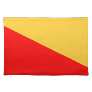Flag of Palermo Cloth Placemat