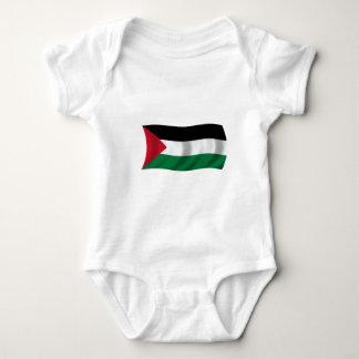 Flag of Palestine Baby Bodysuit