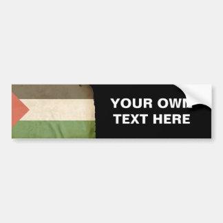 Flag of Palestine Bumper Sticker
