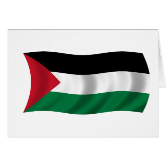 Flag of Palestine Card