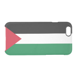Flag of Palestine Clear iPhone Case