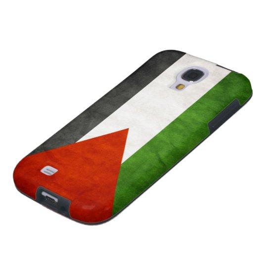 Flag of Palestine - Grunge Galaxy S4 Case