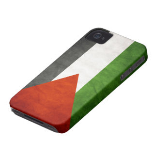 Flag of Palestine - Grunge iPhone 4 Case