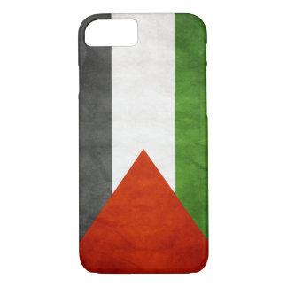 Flag of Palestine - Grunge iPhone 7 Case