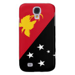 Flag of Papua New Guinea Galaxy S4 Cases