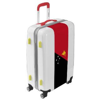 Flag of Papua New Guinea Luggage (Medium)