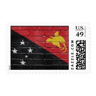 Flag of Papua New Guinea Postage