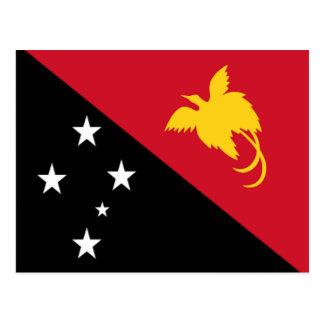 Flag of Papua New Guinea Postcard