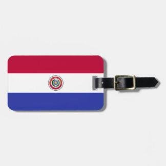 Flag of Paraguay Bag Tag