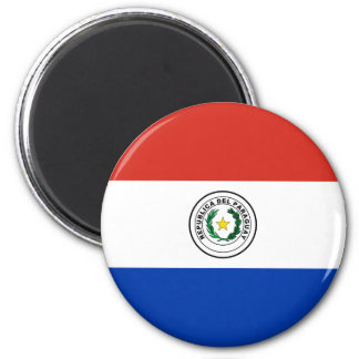 Flag of Paraguay - Bandera de Paraguay Magnet
