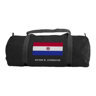 Flag of Paraguay Duffle Bag