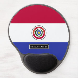 Flag of Paraguay Gel Mouse Pad