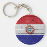 Flag of Paraguay Key Chain
