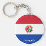 Flag of Paraguay Key Chains
