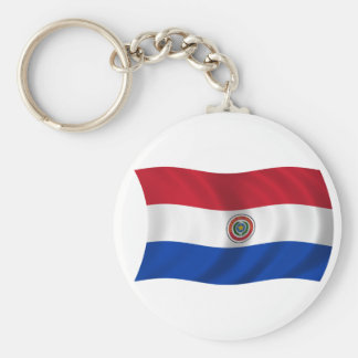 Flag of Paraguay Keychain