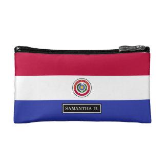 Flag of Paraguay Makeup Bag