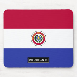 Flag of Paraguay Mouse Pad