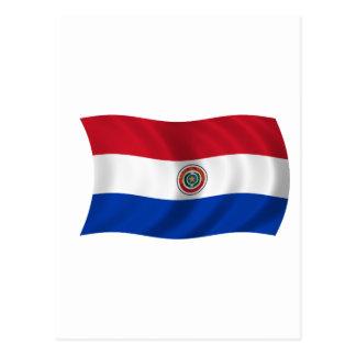Flag of Paraguay Postcard