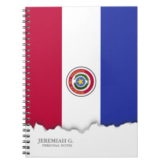Flag of Paraguay Spiral Notebook