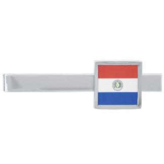 Flag of Paraguay Tie Clip