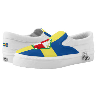 Flag of Pembrokeshire Slip-On Sneakers