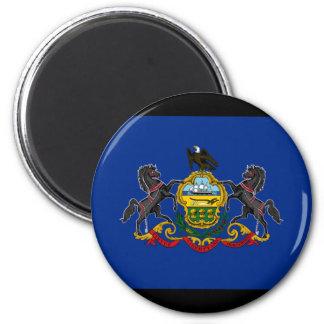 Flag of Pennsylvania Fridge Magnets