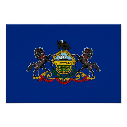 Flag of Pennsylvania Posters