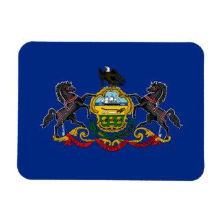 Flag of Pennsylvania Rectangular Magnet