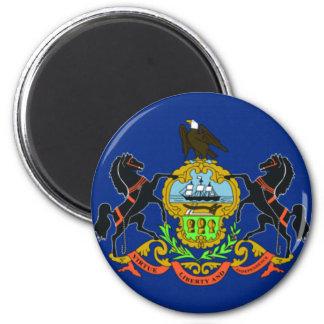 Flag Of Pennsylvannia Magnet