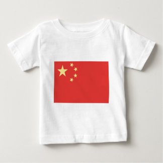 Flag of Peoples Republic of China Baby T-Shirt