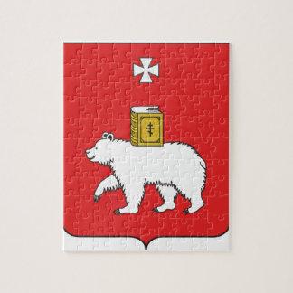 Flag Of Perm Krai Puzzle