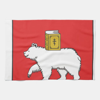 Flag Of Perm Krai Towel
