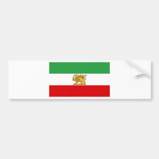 Flag of Persia / Iran (1964-1980) Bumper Sticker