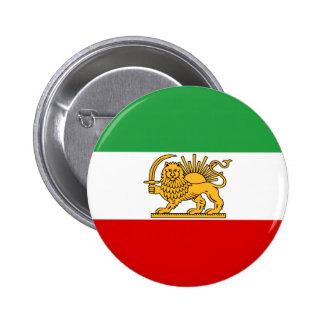 Flag of Persia / Iran (1964-1980) Pinback Button