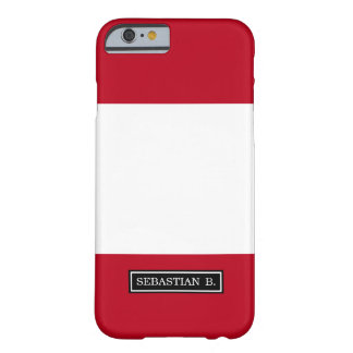 Flag of Peru Barely There iPhone 6 Case