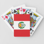 Flag of Peru Bicycle Playing Cards