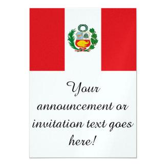 Flag of Peru Card