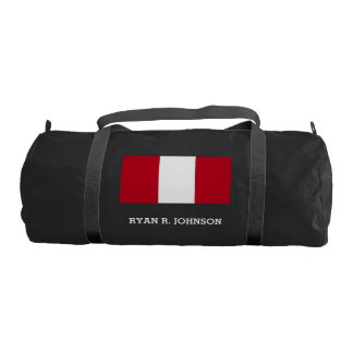 Flag of Peru Gym Bag