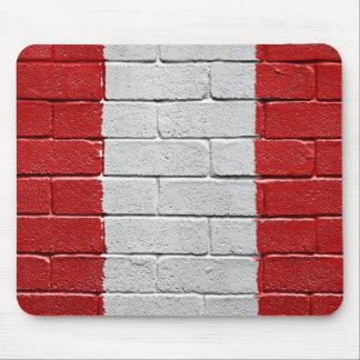 Flag of Peru Mouse Pad