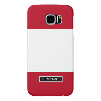 Flag of Peru Samsung Galaxy S6 Case
