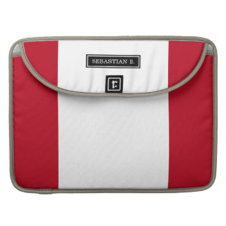 Flag of Peru Sleeve For MacBook Pro