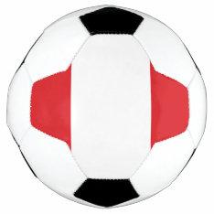 Flag Of Peru Soccer Ball at Zazzle