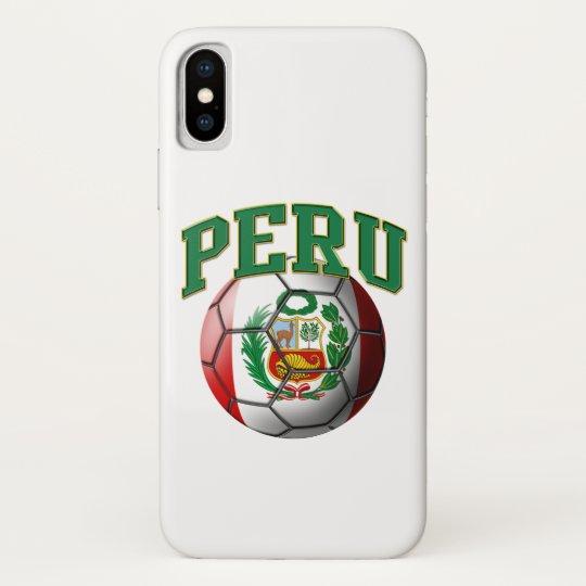 85f7e05b015 Flag of Peru Soccer Ball Case-Mate iPhone Case
