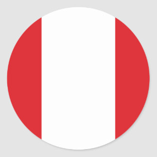 Flag of Peru Sticker