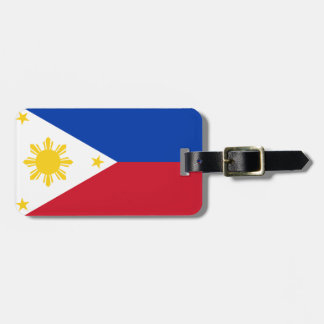 Flag of Philippines Easy ID Personal Luggage Tag