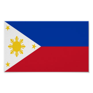 Flag of Philippines Poster
