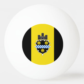 Flag of Pittsburgh, Pennsylvania Ping Pong Ball